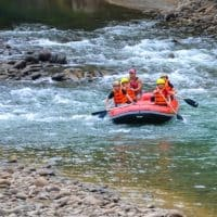 White water rafting in Northern California