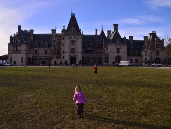 princess castle at the Biltmore