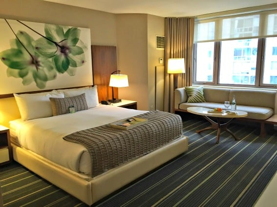 Fairmont Chicago Millenium Park is a great place to stay while exploring family-friendly art museums