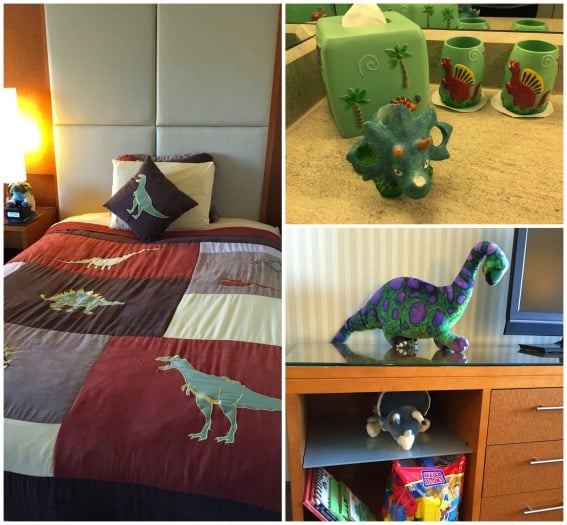 SwissotelChicagoDinoThemeRoom Best Kid-Friendly Hotels in Chicago