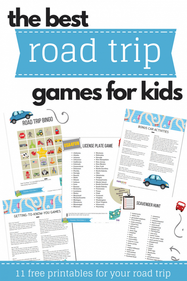 image about License Plate Game Printable named Street Family vacation Game titles Automobile Pursuits for Children - Absolutely free Printable