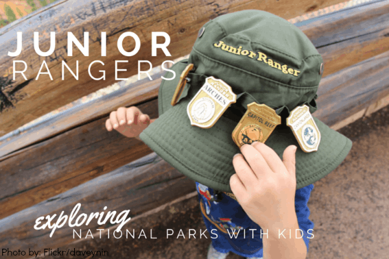 Junior Ranger Program with kids