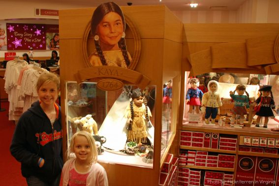 American Girl Store Photo by: Flickr/terren in Virginia