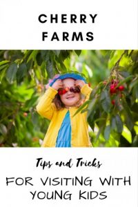 visiting cherry farms with kids