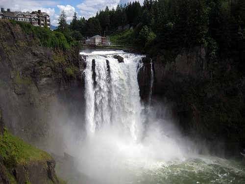 Snoqualmie Falls-Photo by: Flickr/Redefinery