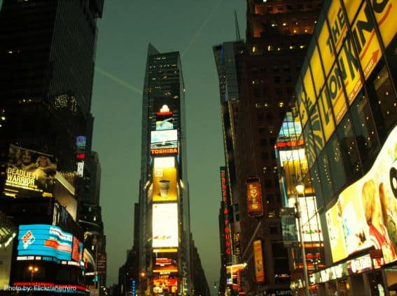 Times Square Photo by: Flickr/aherrero
