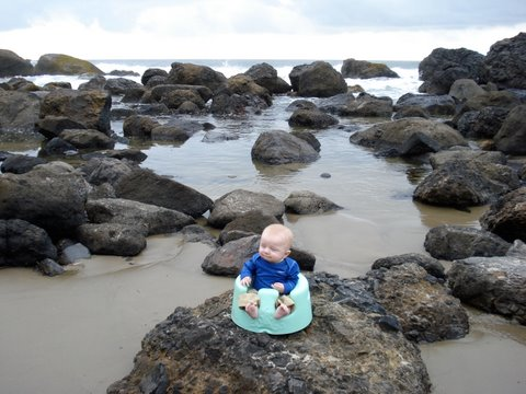 outdoor adventures with babies and toddlers- traveling with baby