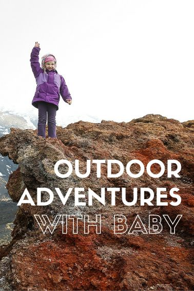 We were told over and over that once our baby arrived, all our outdoor adventures would have to come to an end. Oh, how those folks were wrong. Explore the Great Outdoors even with your babies and toddlers in tow! #hiking #outdoors #trekarooing #familytravel