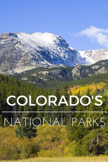 Explore Colorado's National Parks with your family! Tips & recommendations for ROCKY MOUNTAIN national park, MESA VERDE national park, GREAT SAND DUNES national park, and BLACK CANYON OF THE GUNNISON national park. #nationalparks #familytravel