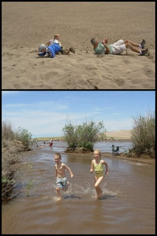 Splash, climb, and roll through the family fun at Great Sand Dunes National Park