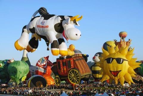 Family Fun at Albuquerque's International Balloon Fiesta 2