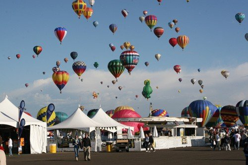 Family Fun at Albuquerque's International Balloon Fiesta 1