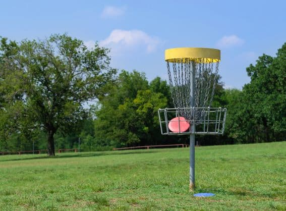 bigstock-Disc-Golf-Basket-68862244
