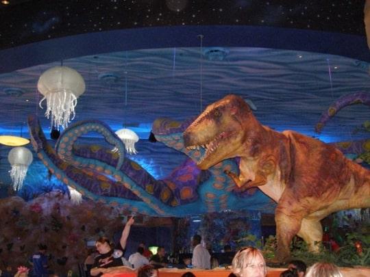 Spotlight thursday best themed restaurants for kids for Disney dining plan t rex