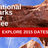 national parks for free explore 2015 dates #travel #nationalparks