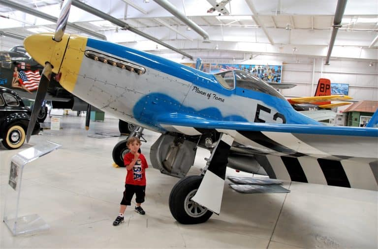 Visit the Palm Springs Air Museum with kids