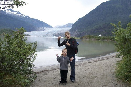 Hiking with kids in Alaska