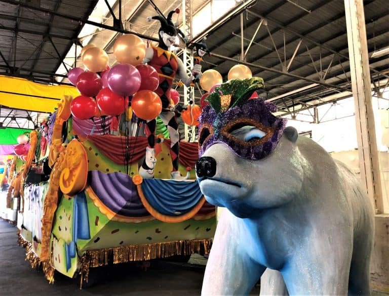 Mardi Gras World by Tiffany Vaughn