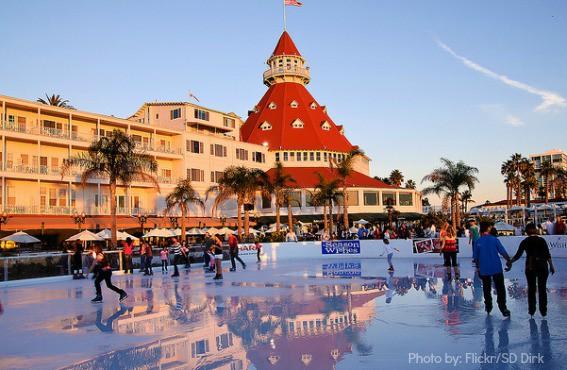 Hotel del Coronado Ice Skating Trekaroo