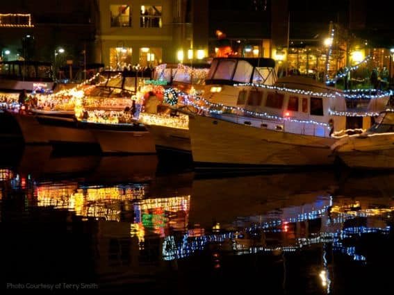 Petaluma Lighted Boat Parade