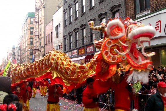Join the parade fun while you celebrate Chinese New Year with kids