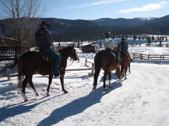 "Winter Vacation at Vista Verde Ranch; ""Mommy Travel Agent"" Takes a Day Off 3"