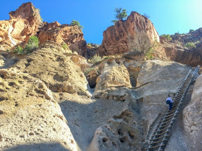 things to do in New Mexico for kids Bandelier National Monument