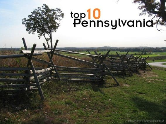 Top 10 things to do with kids in Pennsylvania