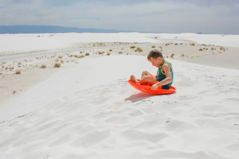 fun things to do in New Mexico with kids White Sands National Monument