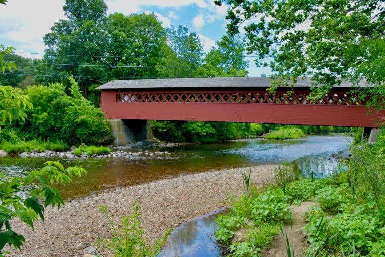 Best Places to Visit in Vermont Covered Bridges Bennington