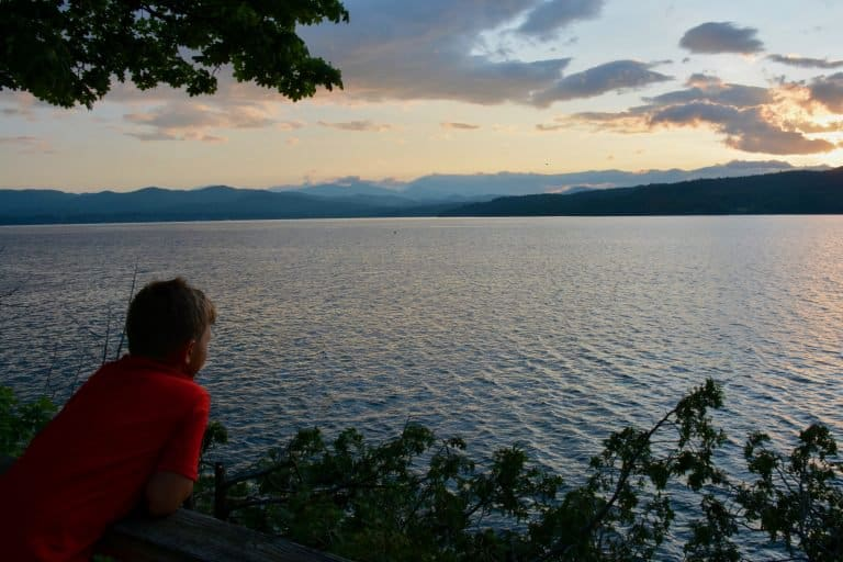 Lake Champlain Vermont Basin Harbor Resort