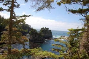 Cape Flattery is a great stop on a Washington Coast Road Trip