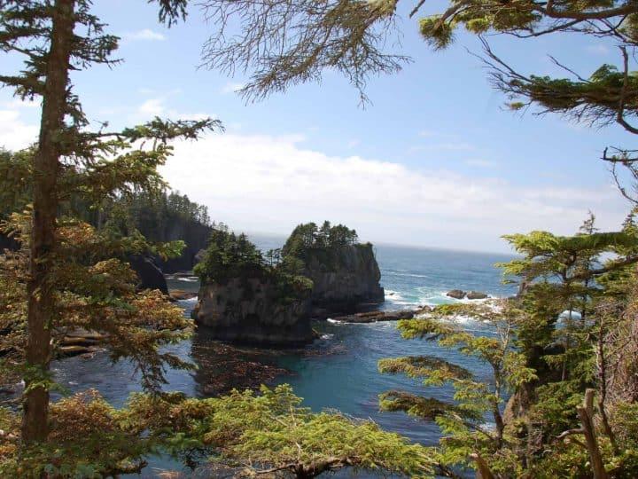 Cape Flattery is a great stop on a Washington Coast Road Trip