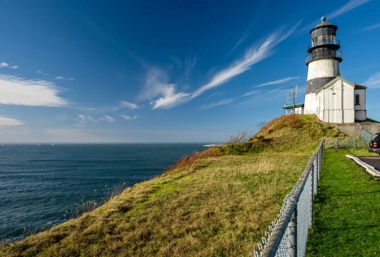 Cape Disappointment is a good place to begin your Washington Coast Road Trip