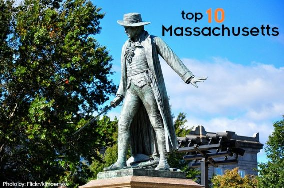top 10 things to do with kids in massachusetts