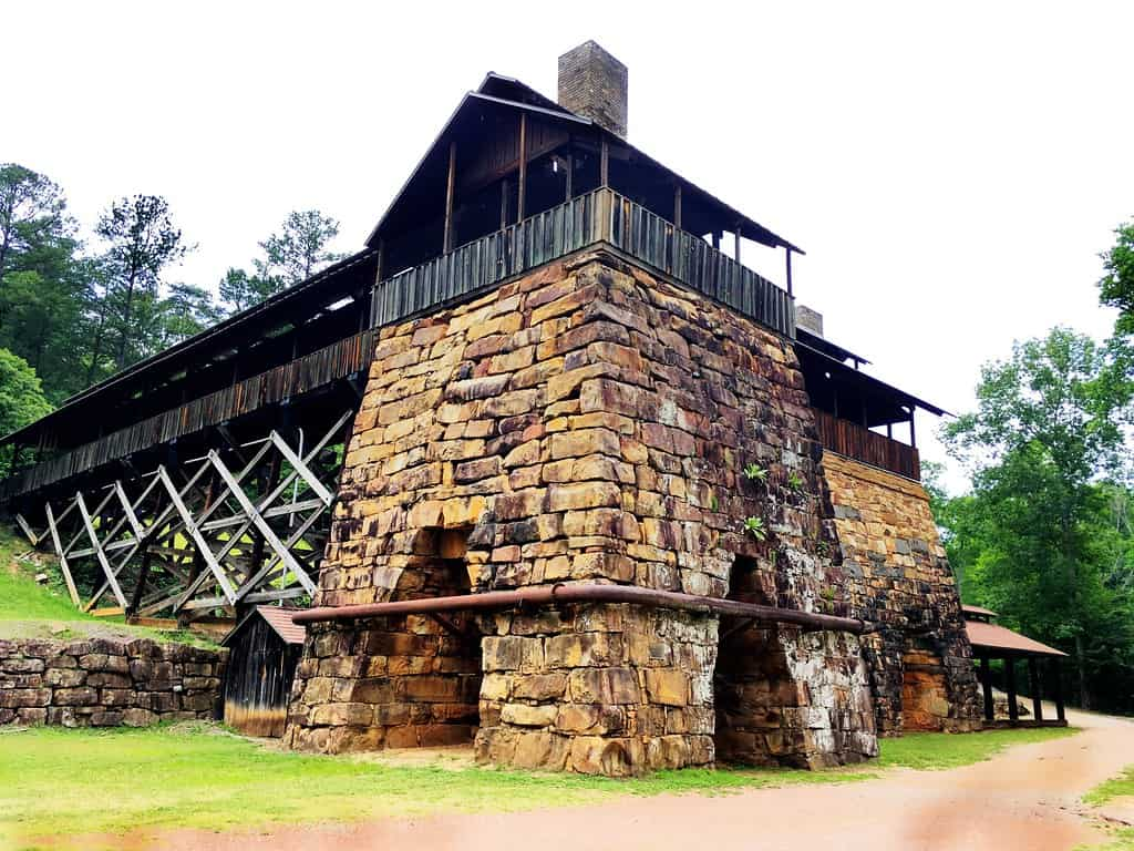 Tannehill Ironworks is one of the best places to visit in Alabama
