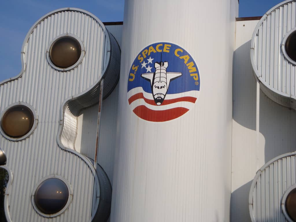 Space camp is one of the best things to do in Alabama with kids