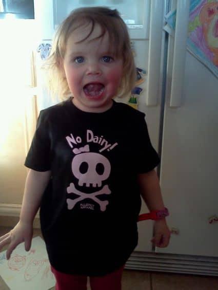 No Dairy child