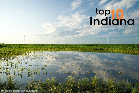 Top 10 things do to with kids in Indiana