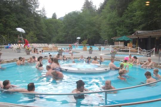 Sol Duc pool