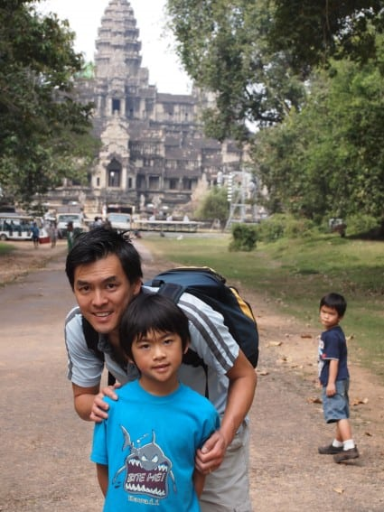 Cambodia: Angkor Archeological Park Through the Eyes of Young Kids 3