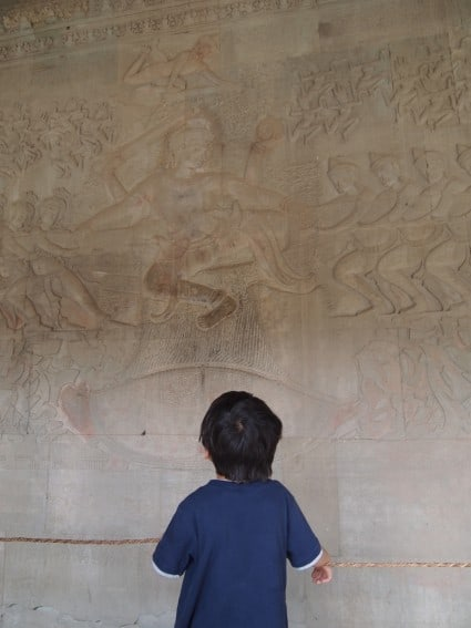 Cambodia: Angkor Archeological Park Through the Eyes of Young Kids 4