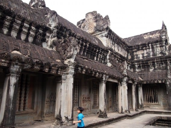 Cambodia: Angkor Archeological Park Through the Eyes of Young Kids 5