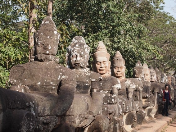 Cambodia: Angkor Archeological Park Through the Eyes of Young Kids 2