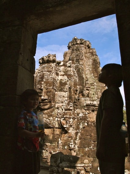 Cambodia: Angkor Archeological Park Through the Eyes of Young Kids 9