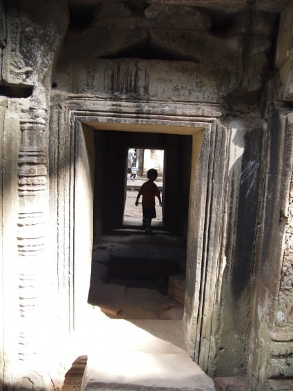 Cambodia: Angkor Archeological Park Through the Eyes of Young Kids 14