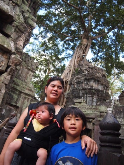 Cambodia: Angkor Archeological Park Through the Eyes of Young Kids 12