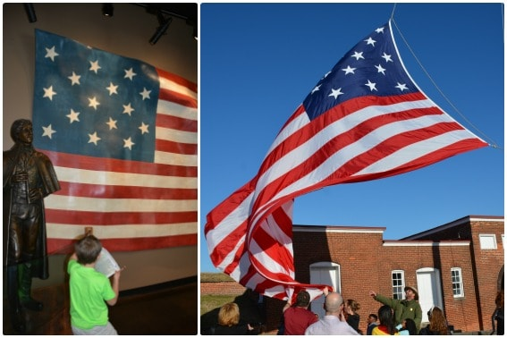 Fort McHenry Junior Ranger Star Spangled Banner Balitmore Maryland