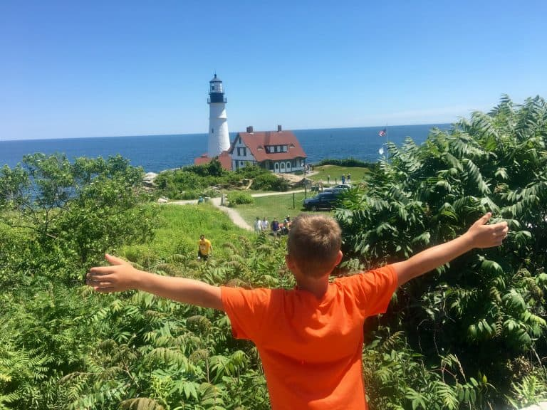 Places to Visit in Maine Portland Head Lighthouse