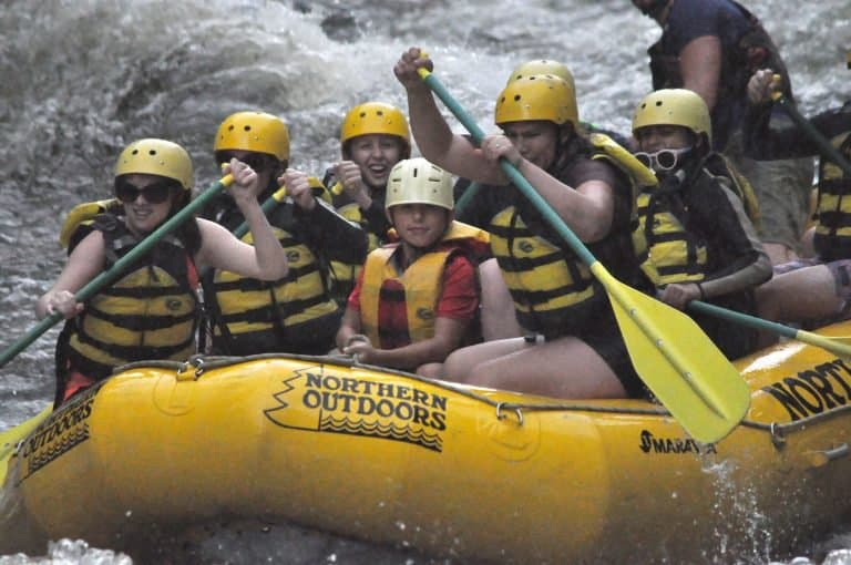 Whitewater Rafting the Kennebec River